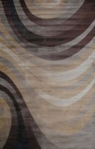 LA Rugs Contemporary Artifacts Area Rug Collection