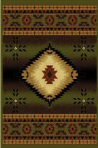 LA Rugs Southwestern/Lodge Cosmos Area Rug Collection