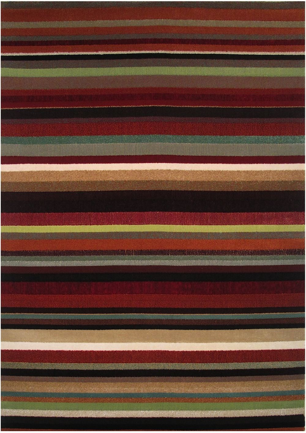 la rugs swing solid/striped area rug collection