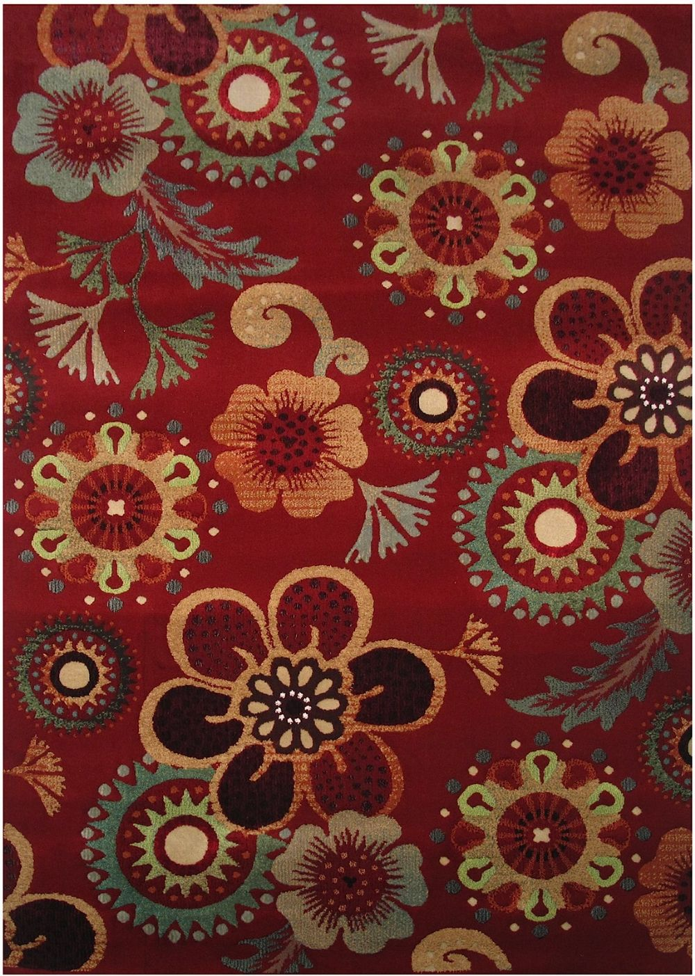 la rugs swing country & floral area rug collection