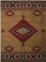 LA Rugs Southwestern/Lodge Inspiration Area Rug Collection