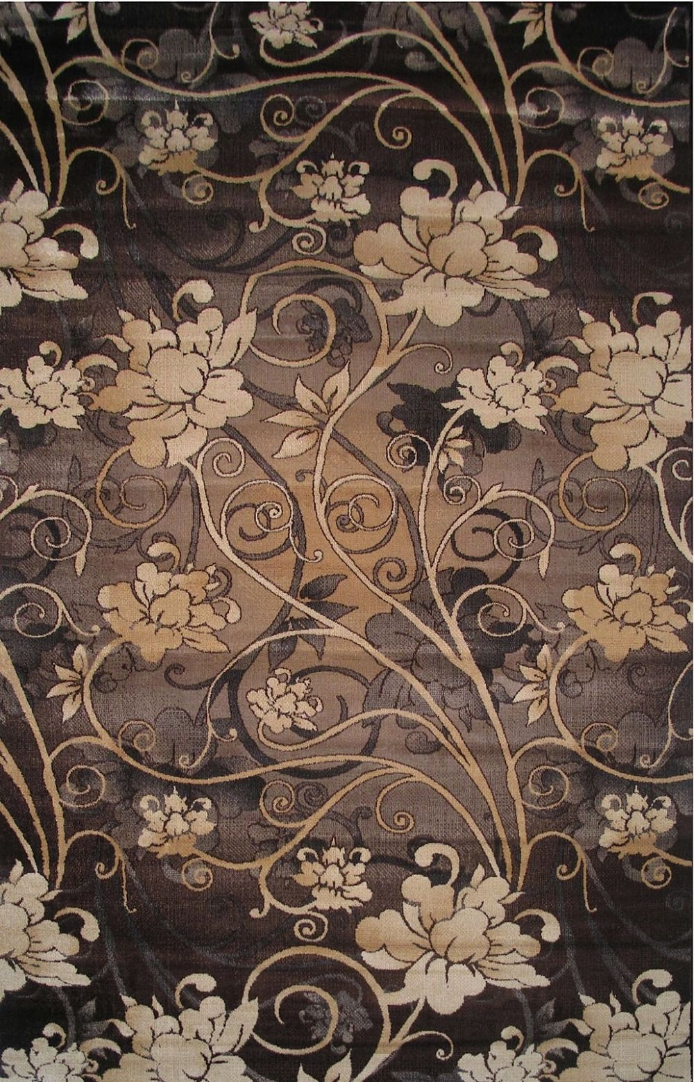 la rugs artifacts country & floral area rug collection