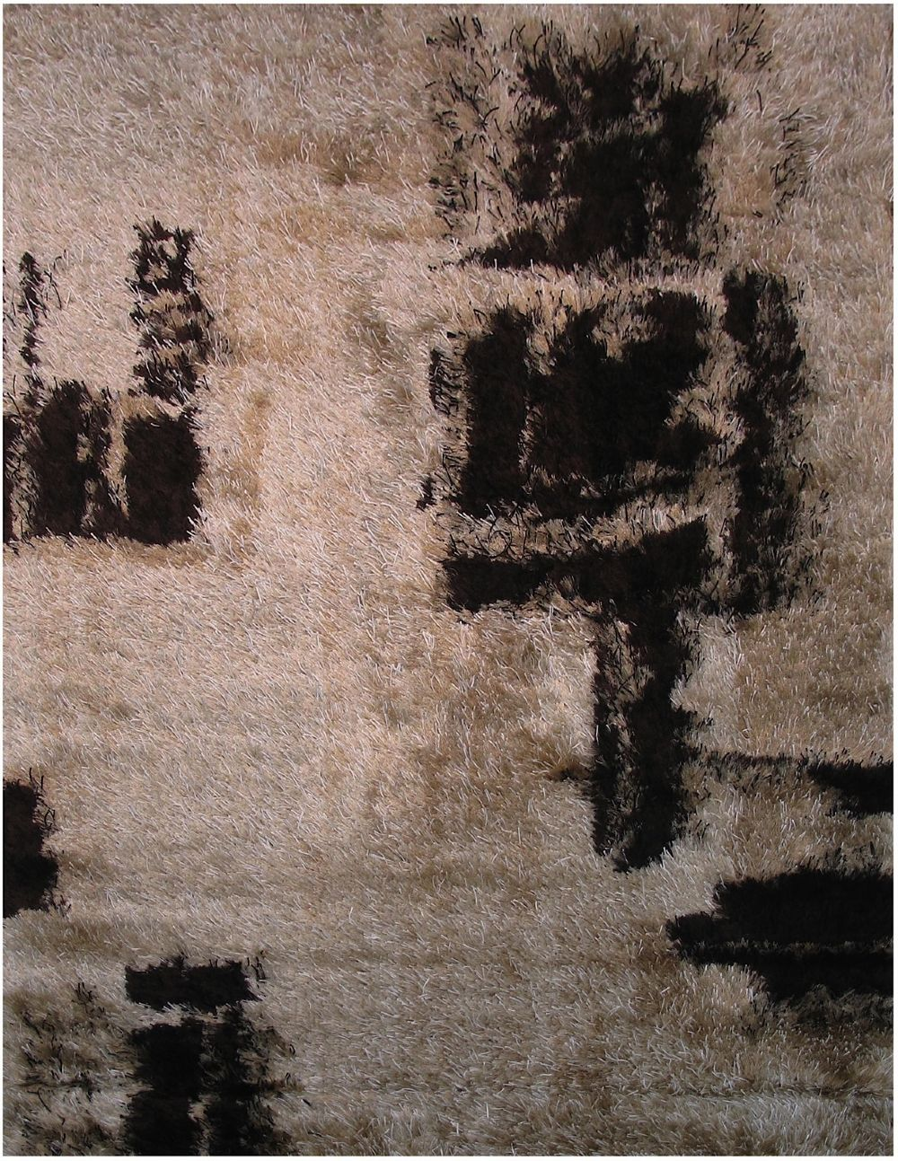la rugs spago shag shag area rug collection