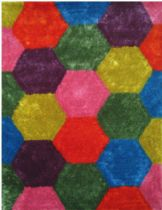 LA Rugs Plush Exotic Area Rug Collection