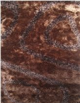 LA Rugs Shag Fantasy Shaggy Area Rug Collection