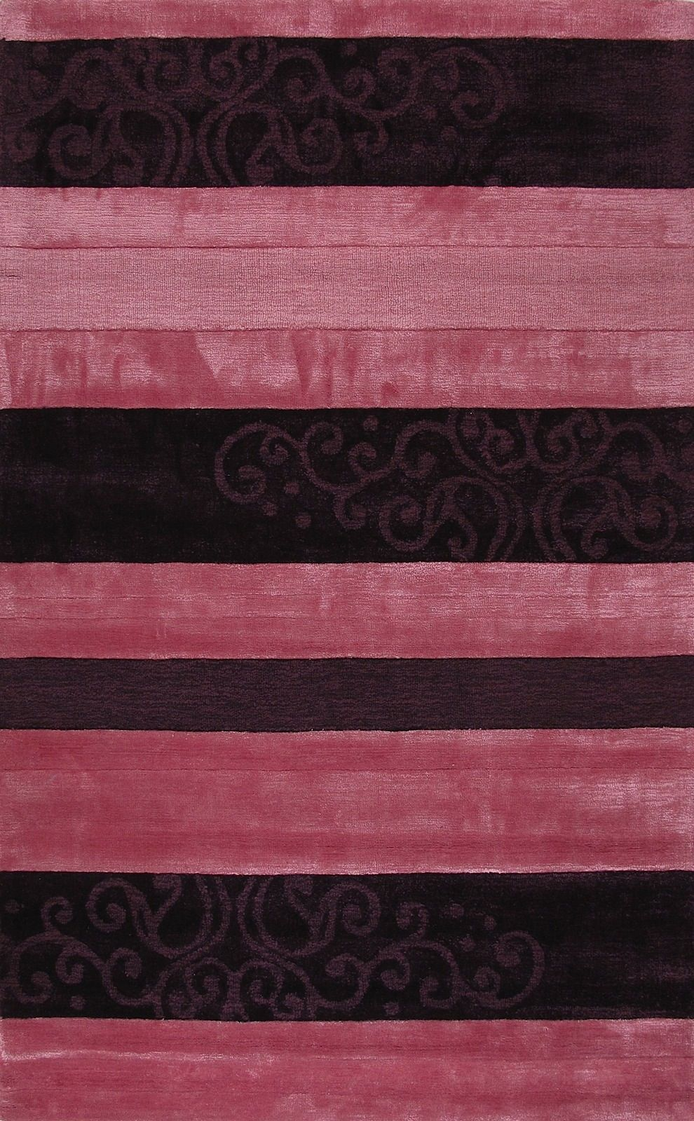 la rugs mumbai solid/striped area rug collection