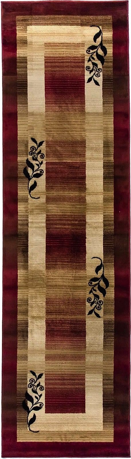 well woven barclay molly red transitional area rug collection