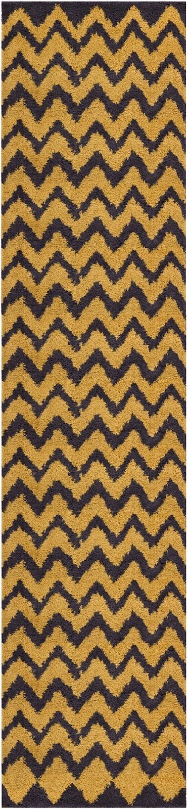 well woven madison shag passion chevron shag area rug collection