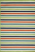 Momeni Solid/Striped Baja Area Rug Collection