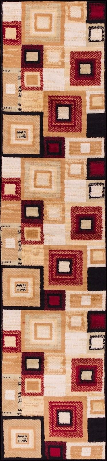 well woven miami sensation squares-set of 3-1.8x2.6, 1.8x5, 4.5x6.5 contemporary area rug collection