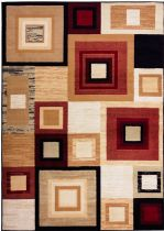 Well Woven Contemporary Miami Sensation Squares Area Rug Collection