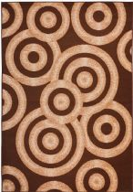 Well Woven Contemporary Miami Sunshine Circles Area Rug Collection