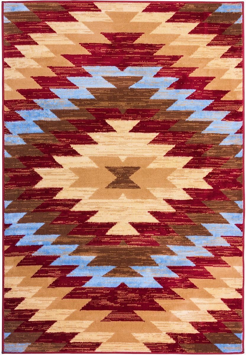 well woven miami alamo southwestern southwestern/lodge area rug collection