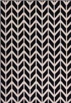 Well Woven Contemporary Miami Bourban Chevron Area Rug Collection