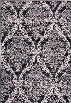 Well Woven Contemporary Miami Ginger Damask Area Rug Collection