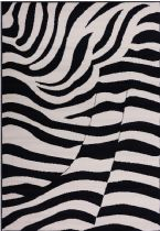 Well Woven Animal Inspirations Miami Zebra Area Rug Collection