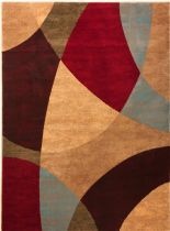 Well Woven Contemporary Wallaby Zubu Rectangles Area Rug Collection