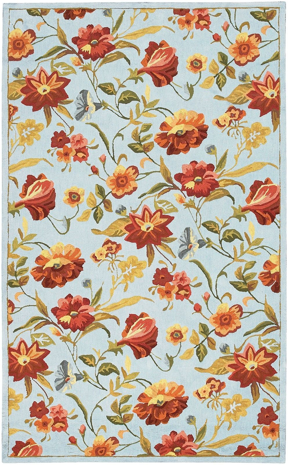 surya ambiance country & floral area rug collection