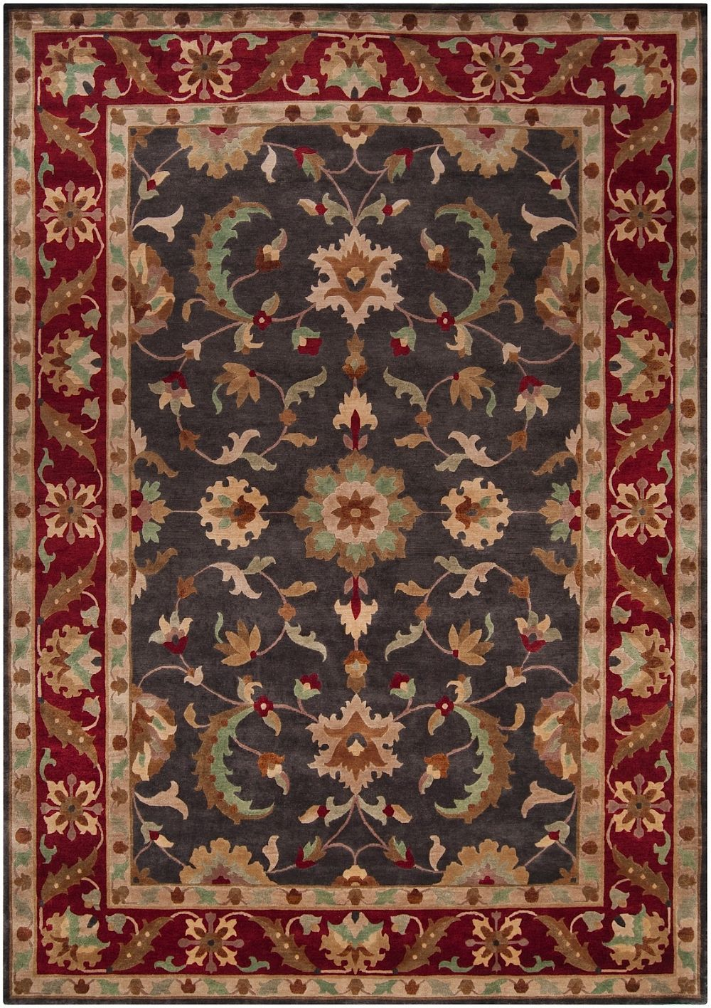 surya anastacia traditional area rug collection