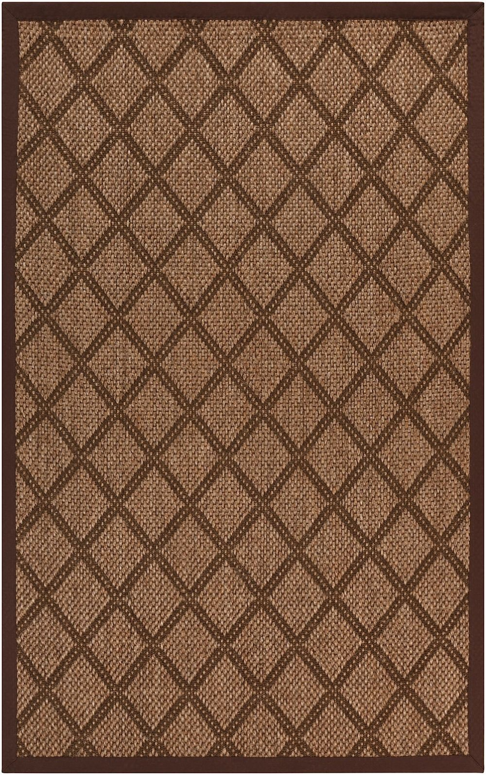 surya argyle natural fiber area rug collection