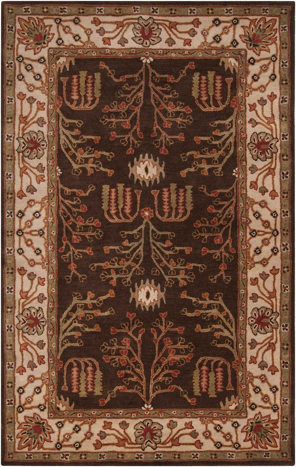 surya bungalo traditional area rug collection