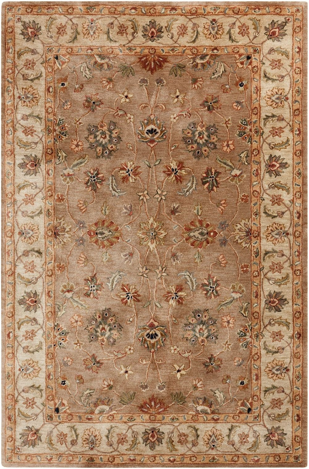 surya brilliance traditional area rug collection