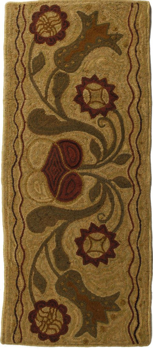 homespice decor padula flowers braided area rug collection