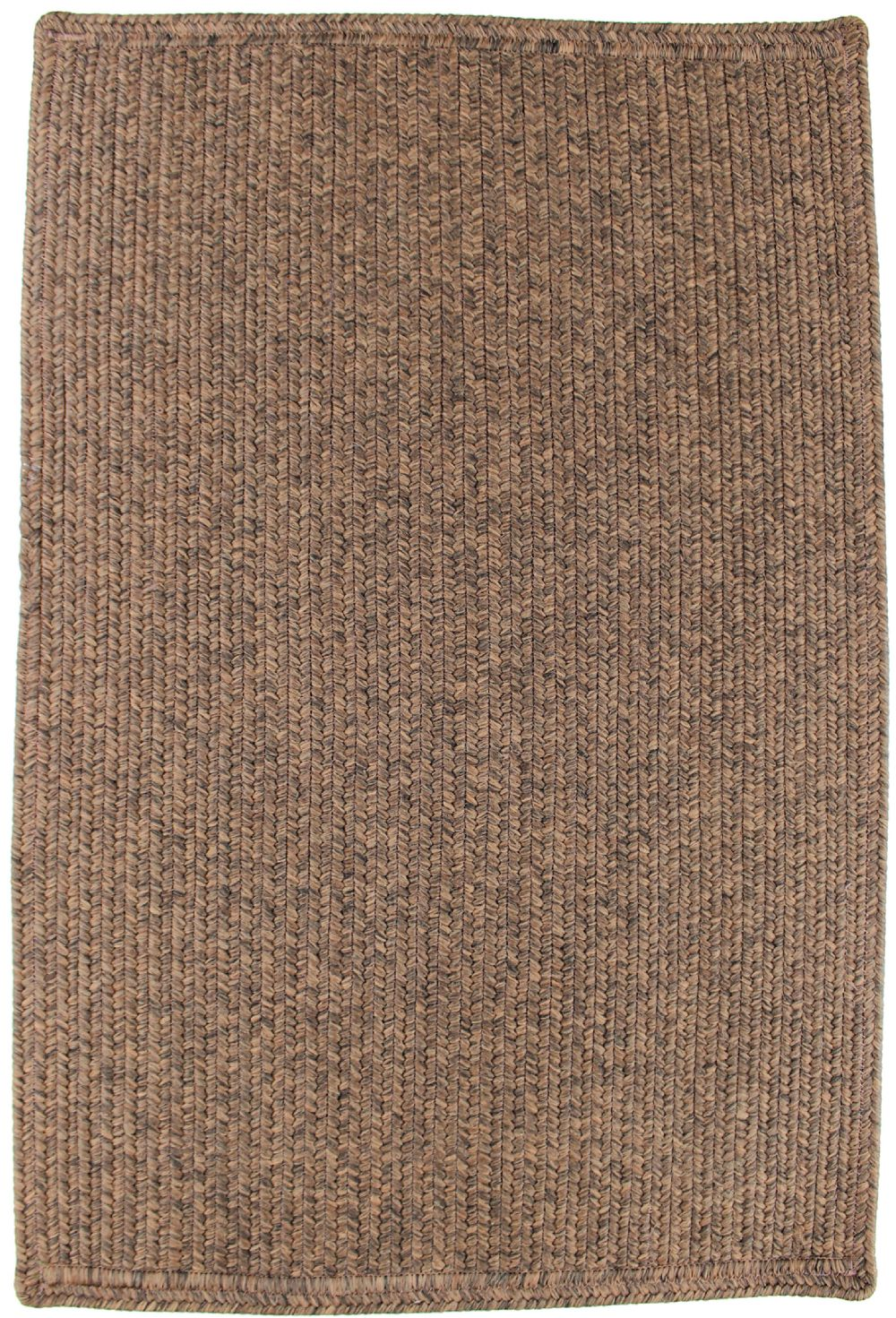 homespice decor burnished brown braided area rug collection