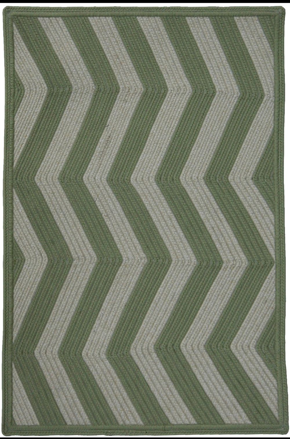 homespice decor sage ivory braided area rug collection