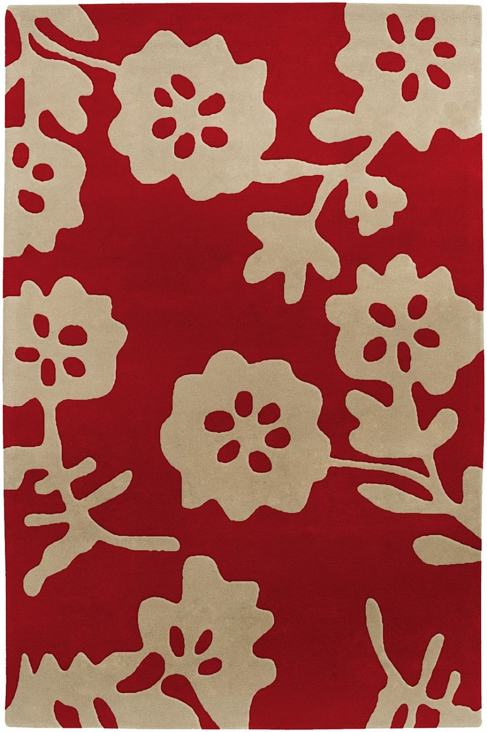 surya cow parade contemporary area rug collection