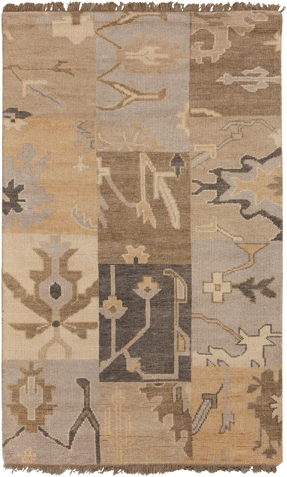 surya cypress southwestern/lodge area rug collection