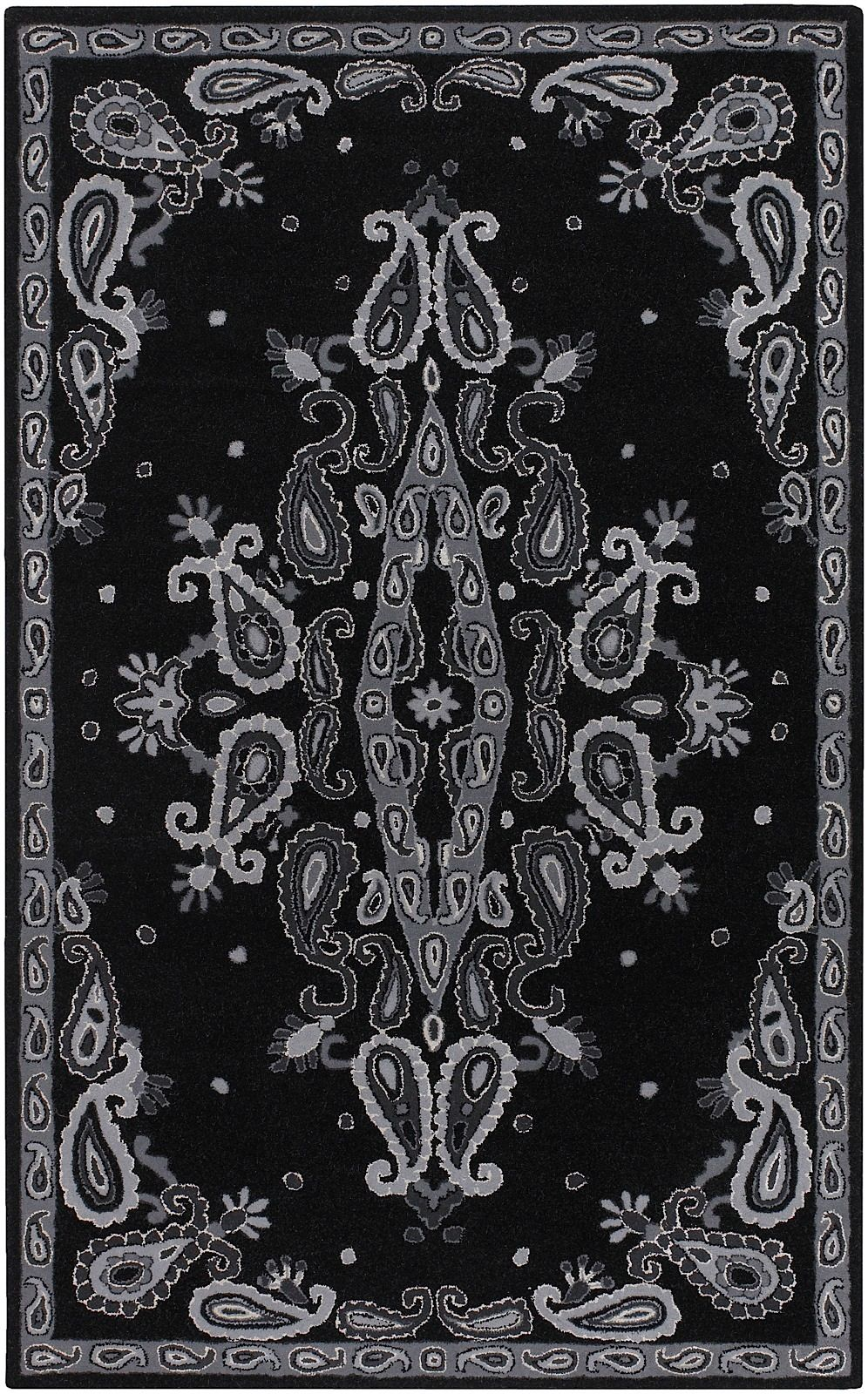 surya deco contemporary area rug collection