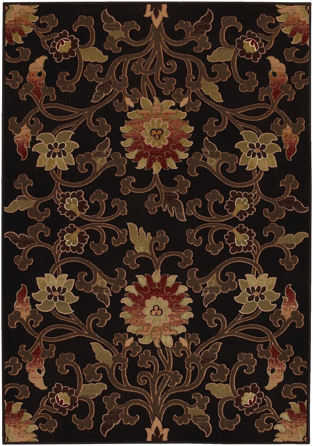 surya duetto traditional area rug collection