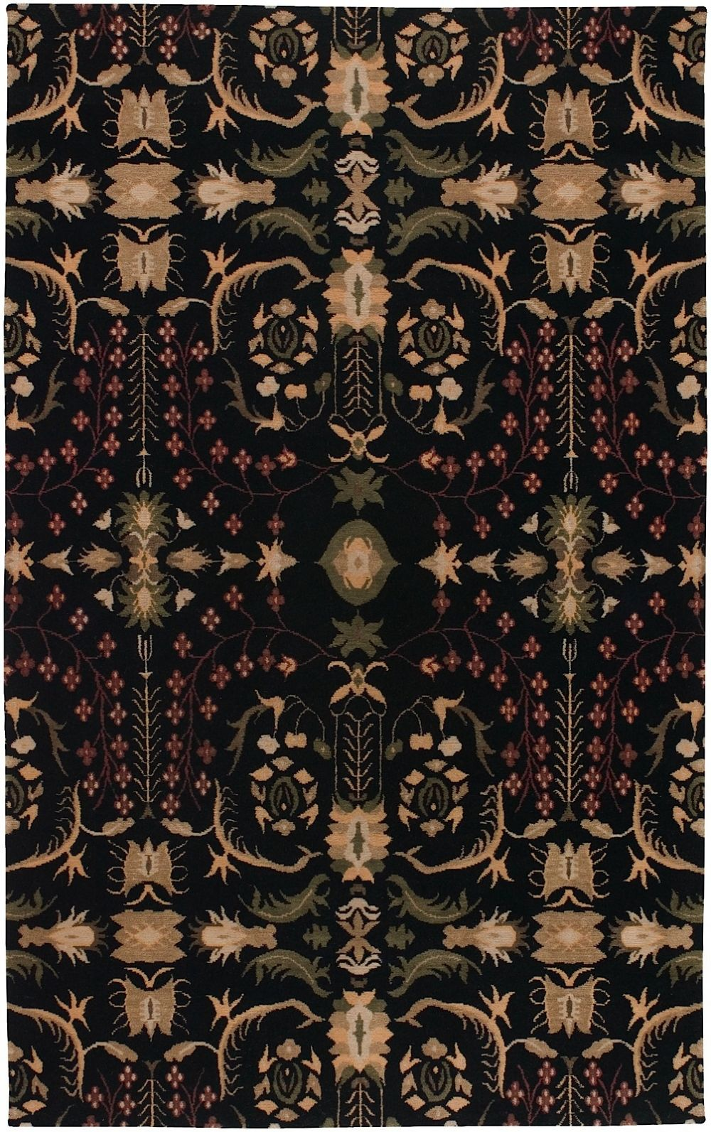 surya everest contemporary area rug collection