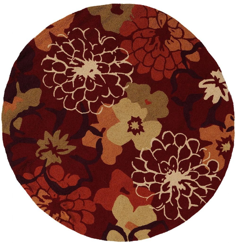 surya brentwood country & floral area rug collection