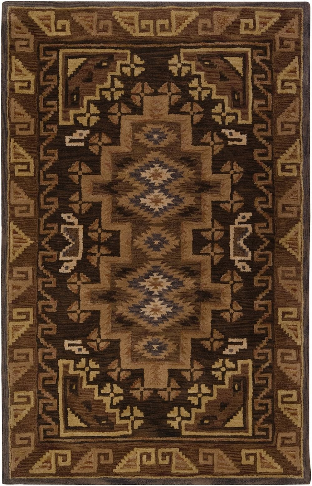 surya dream southwestern/lodge area rug collection