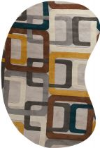 FaveDecor Contemporary Qratrord Area Rug Collection