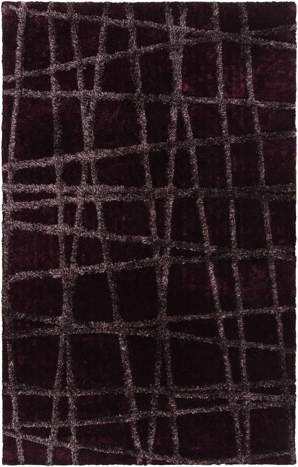 surya graph plush area rug collection