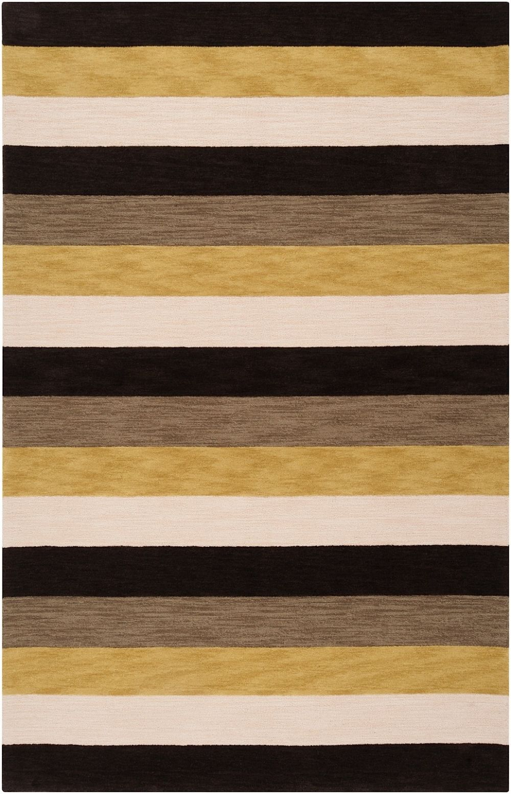 surya impressions solid/striped area rug collection
