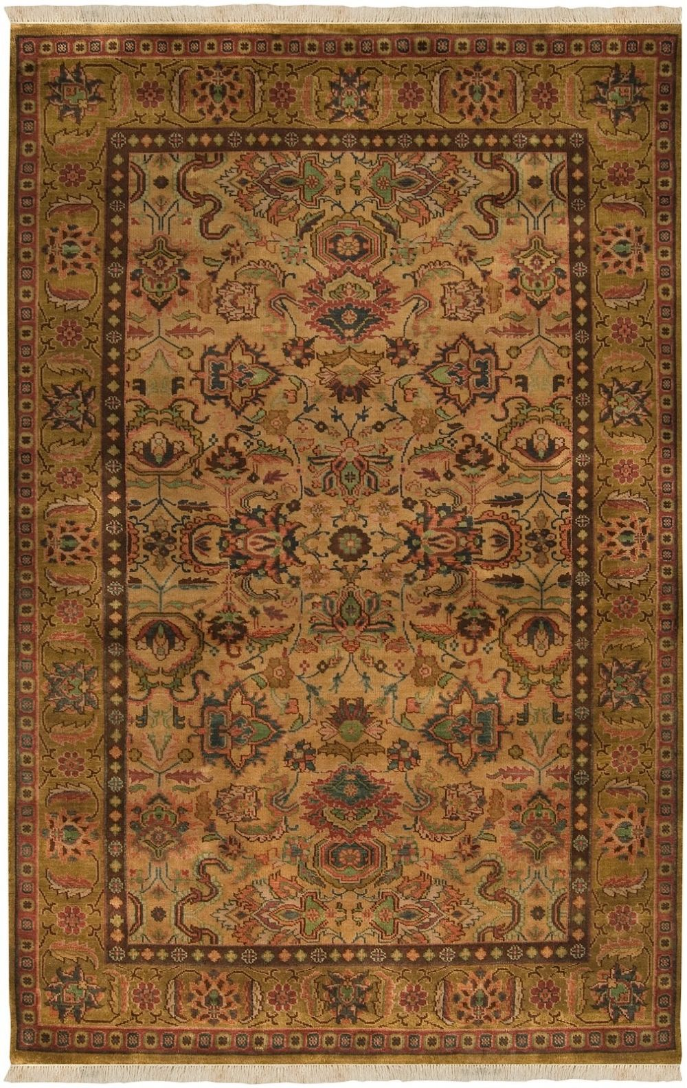 surya adana traditional area rug collection