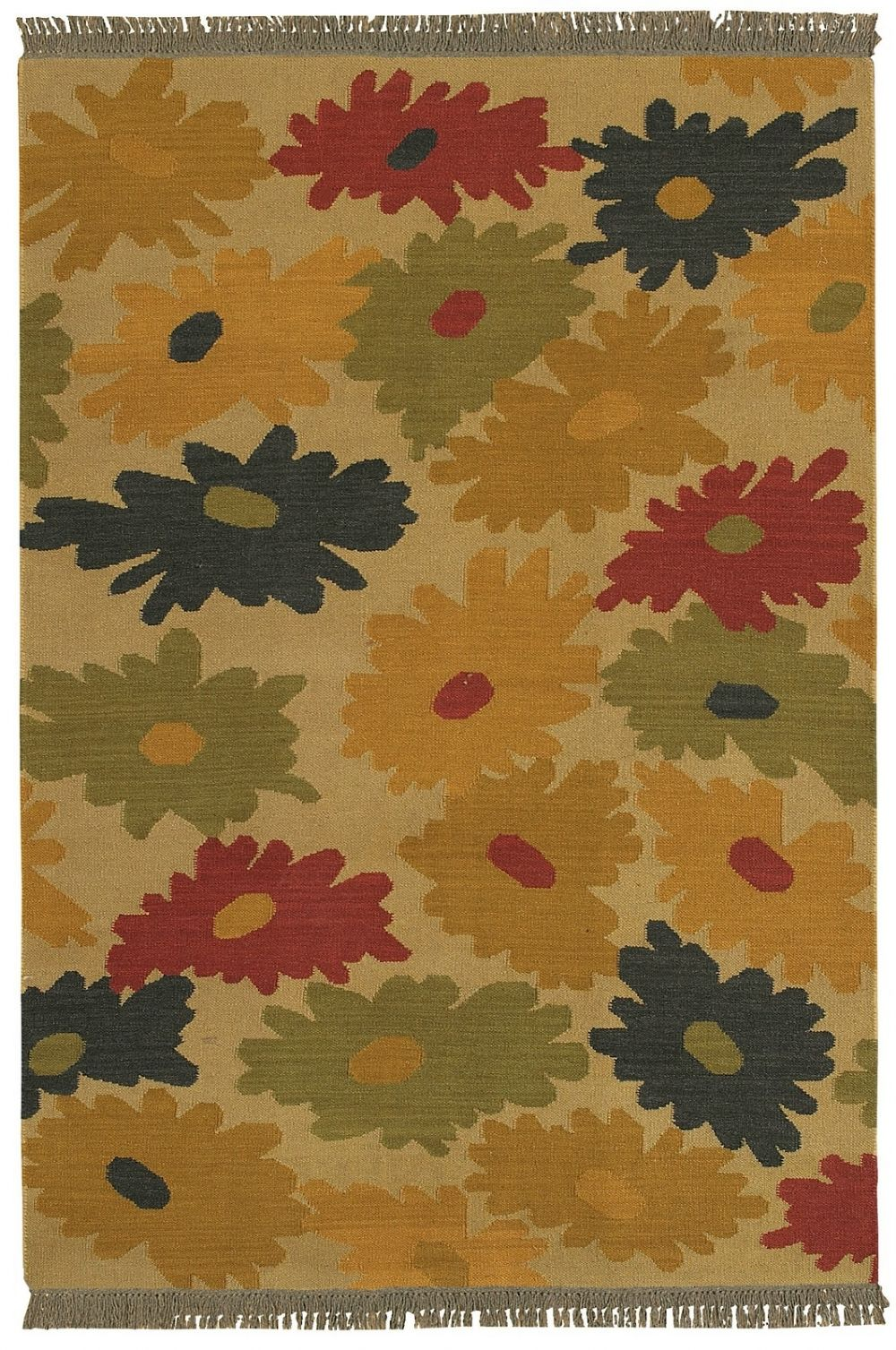surya jewel tone country & floral area rug collection