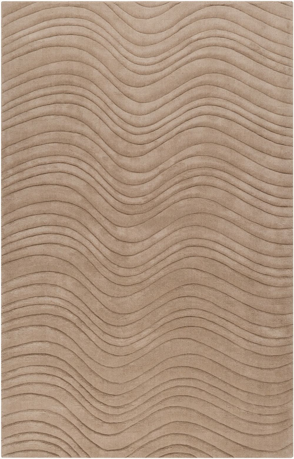 surya kinetic solid/striped area rug collection