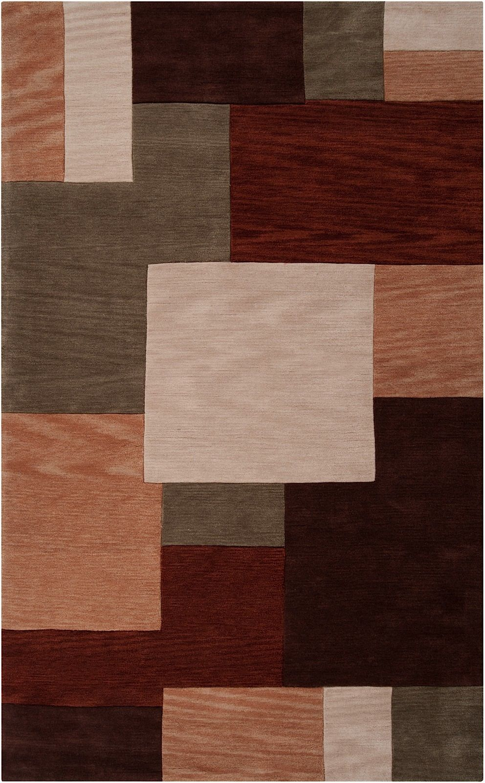 surya lava contemporary area rug collection