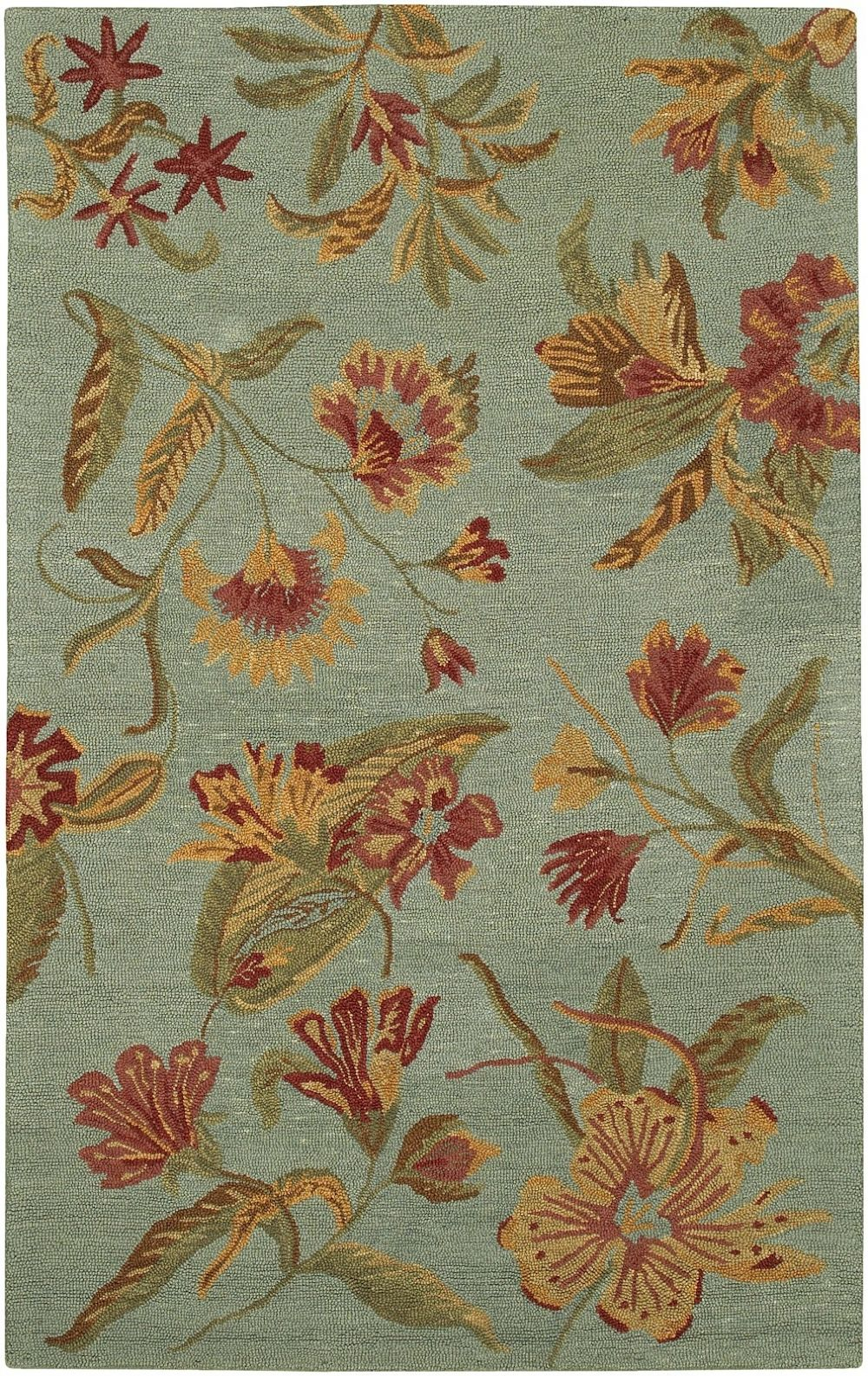 surya malabar country & floral area rug collection