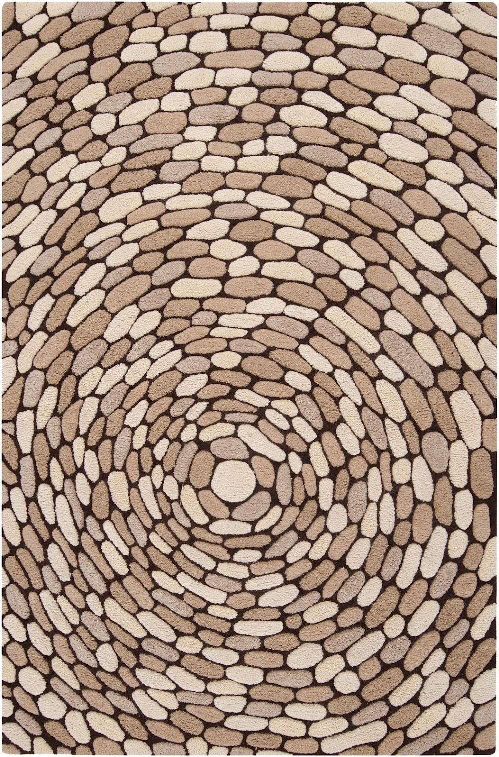 surya pebble beach contemporary area rug collection