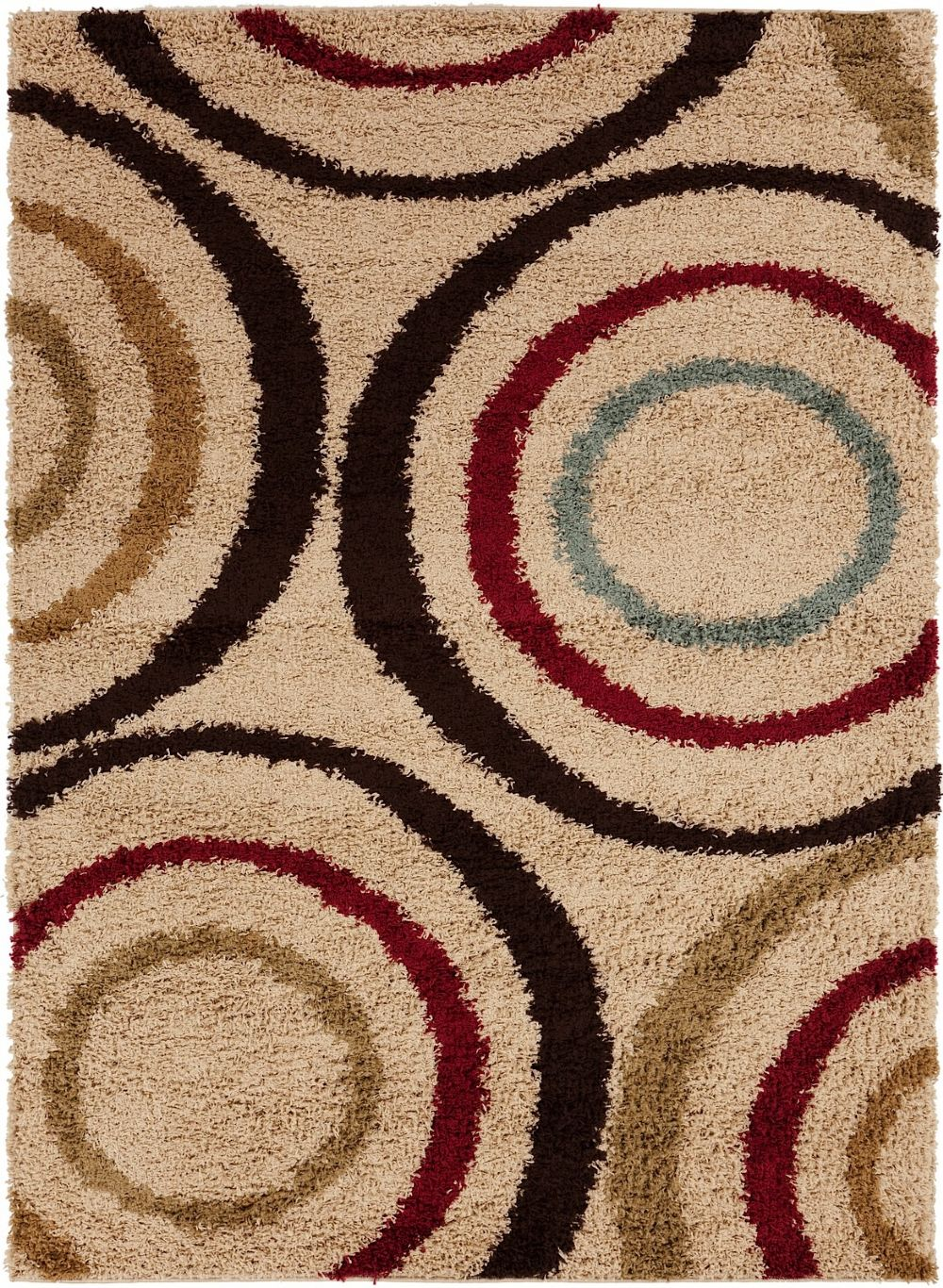 surya rosario plush area rug collection