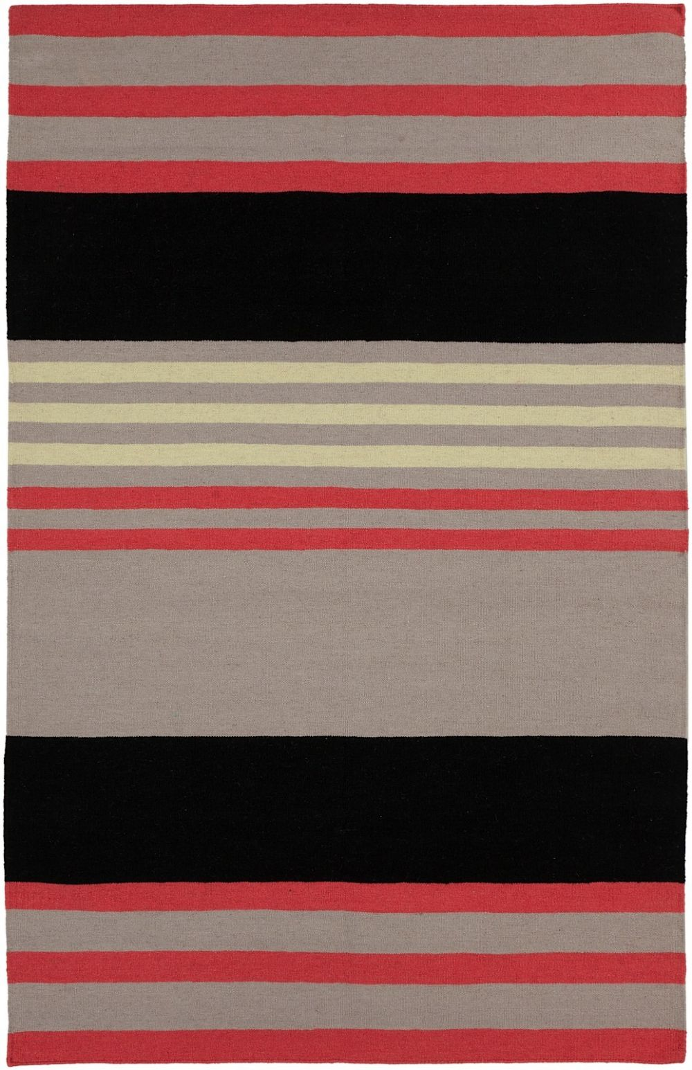 surya sheffield market solid/striped area rug collection