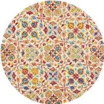Nourison Transitional Vibrant Area Rug Collection