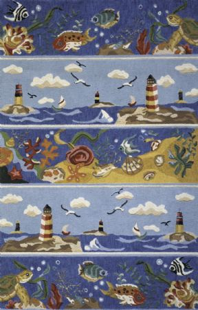 Momeni Contemporary Coastal Area Rug Collection