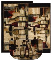 Mohawk Novelty Wine And Glasses Area Rug Collection